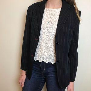 Sandra Angelozzi stripped blazer